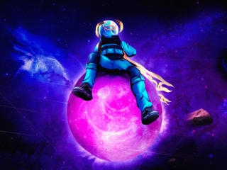 Astro Jack Fortnite Wallpaper