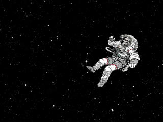Astronaut Skull Space Suit wallpaper