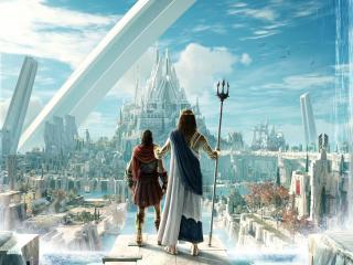 Atlantis City Assassins Creed wallpaper
