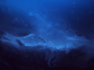 Atlantis Nebula wallpaper