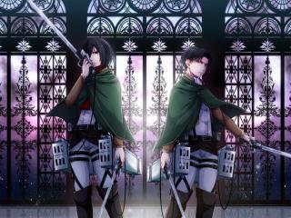 attack on titan, art, shingeki no kyojin wallpaper
