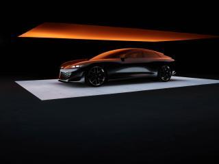 Audi Grandsphere 4k wallpaper