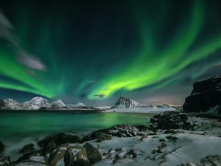 Aurora Borealis 4k 2K21 Night Photography wallpaper