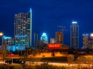 austin, texas, skyscrapers wallpaper