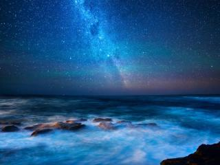 Australia Milky Way wallpaper