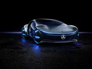Avatar Mercedes Benz Vision 8K wallpaper