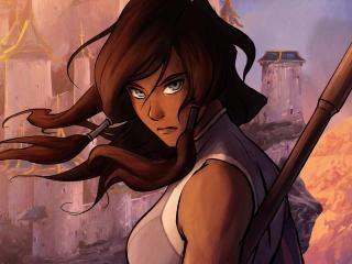 Avatar The Legend Of Korra 4K wallpaper