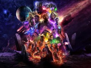 Avengers 4 Endgame 2019 Movie Keyart wallpaper