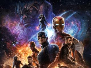 Avengers Endgame 4K Poster wallpaper