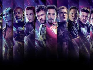 Avengers Endgame All Superhero Characters wallpaper