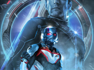 HD Wallpaper | Background Image Avengers Endgame Ant-Man Poster Art
