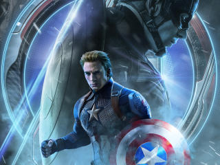 Avengers Endgame Captain America Poster Art wallpaper