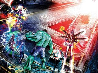 Avengers Endgame Comic Art image