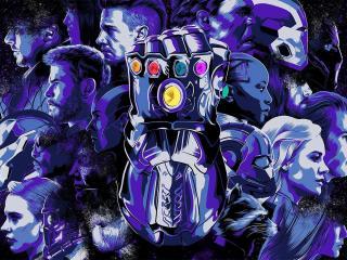 Avengers Endgame Cover Art wallpaper