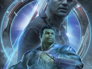 Avengers Endgame Hulk Poster Art wallpaper