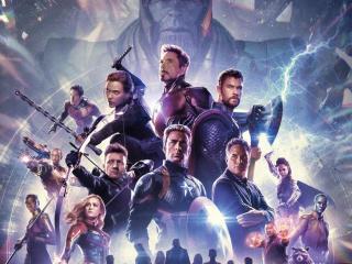 Avengers Endgame International Poster wallpaper