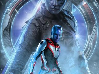 Avengers Endgame Nebula Poster Art wallpaper