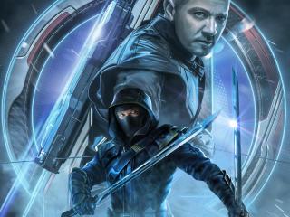 Avengers Endgame Ronin Hawkeye Poster Key Art wallpaper