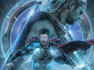 Avengers Endgame Thor Poster Artwork wallpaper