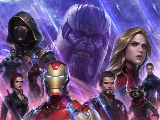 Avengers In Marvel Future Fight wallpaper