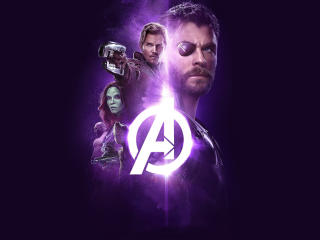 Avengers Infinity War 2018 Power Stone Poster wallpaper