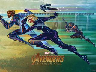 Avengers Infinity War Fandango VIP Posters wallpaper