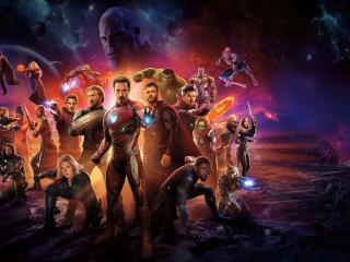 Avengers Infinity War International Poster wallpaper