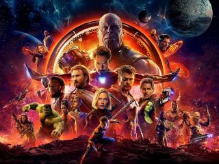 Avengers Infinity War Official Poster wallpaper