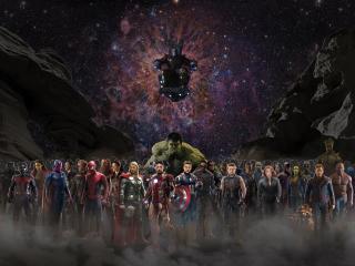 Avengers Infinty War Starcast wallpaper