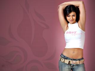Ayesha Takia In White Top HD Pics wallpaper