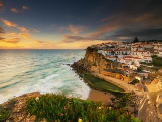 Azenhas do Mar Landscape wallpaper