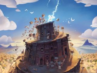 babel rising, mando productions, action game wallpaper
