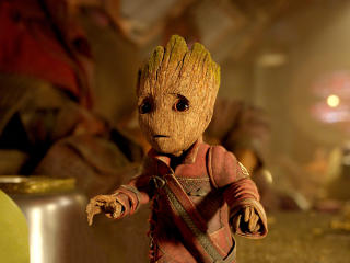 Baby Groot in Guardians Of The Galaxy Vol 2 wallpaper
