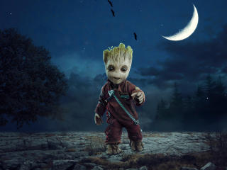 Baby Groot wallpaper