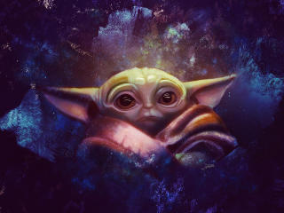 Baby Yoda 2020 Art wallpaper