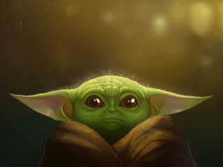 Baby Yoda FanArt 2019 wallpaper