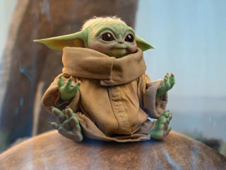 Baby Yoda Grogu Star Wars 2021 wallpaper
