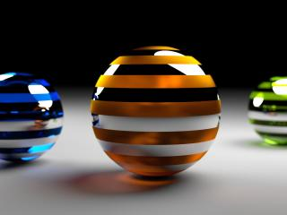 balls, rendering, surface wallpaper