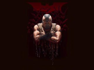 Bane Supervillain wallpaper