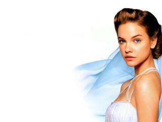 Barbara Palvin In White Dress HD Pics wallpaper