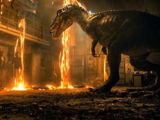 Baryonyx Dinosaur In Jurassic World 2018 wallpaper