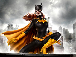 Batgirl Cosplay wallpaper