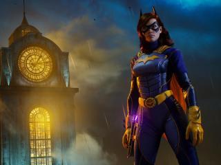 Batgirl in Gotham Knights wallpaper