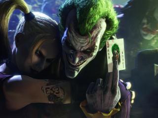 batman, arkham city, joker wallpaper