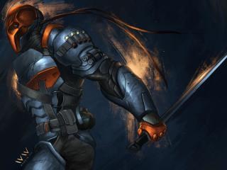batman, arkham origins, deathstroke wallpaper