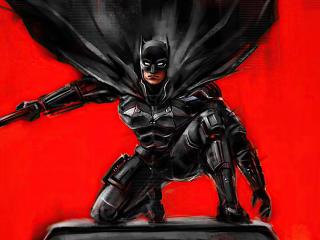 Batman Art 2020 DC Comic wallpaper