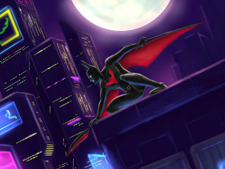 Batman Beyond Comic wallpaper