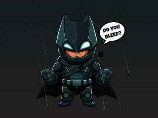 Batman Chibi wallpaper