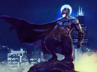 Batman Cool Art wallpaper