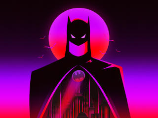 Batman Cool Digital Fan Art wallpaper